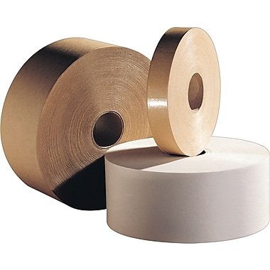 Intertape Polymer Group Kraft Sealing Tape, Central Water Activated, 3