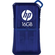 HP 16GB USB 2.0 Flash Drive, Blue