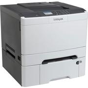 Lexmark™ – Imprimante laser couleur prête pour le réseau avec recto verso (CS410DTN)