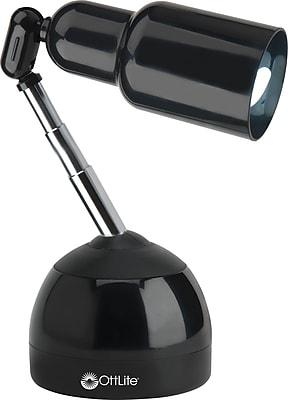 OttLite 15w Telescoping Table Lamp - Black