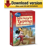 Individual Software Disney: Mickey's Typing Adventure Starring Mickey Mouse and Friends for Mac (1 User) [Download]