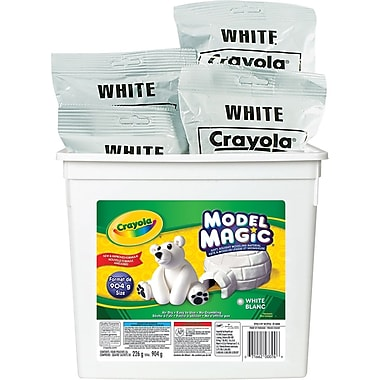 Crayola® Model Magic Bucket, White, 904 g