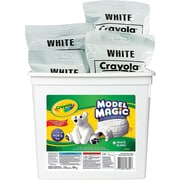 Crayola® - Pâte à modeler Model Magic Bucket, blanc, 907 g