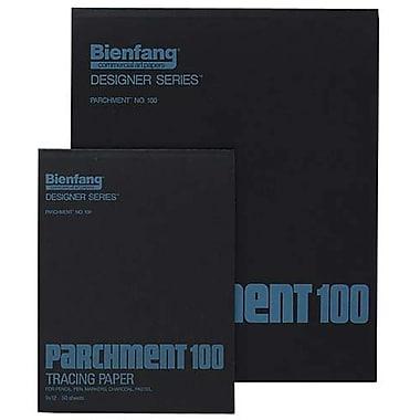Bienfang – Papier parchemin à calquer, 14 x 17 po, 50 feuilles/bloc