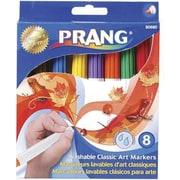 Prang Classic Washable Art Marker Set, 8 Assorted Colours