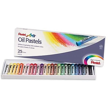 Pentel Oil Pastels, Assorted Colours
