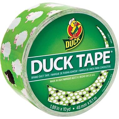 Duck Tape® Brand Duct Tape, Bah Bah Sheep, 1.88