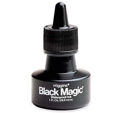 Higgins Waterproof Black Magic Ink, Black, 1 oz.