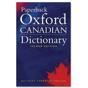 Paperback Oxford Canadian Dictionary, 2nd Edition