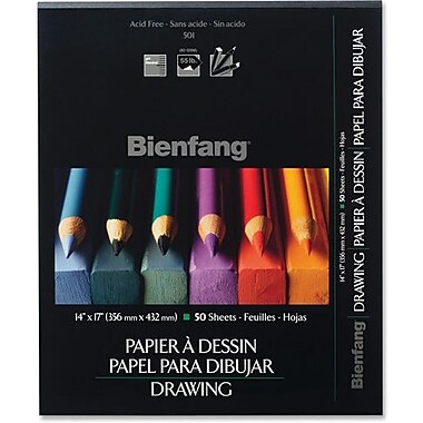 Bienfang Drawing Pad, 8.5