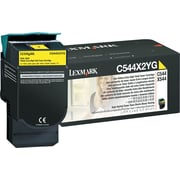 Lexmark Yellow Toner Cartridge (C544X2YG), Extra High Yield
