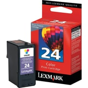 Lexmark 24 Color Ink Cartridge (18C1624), Standard