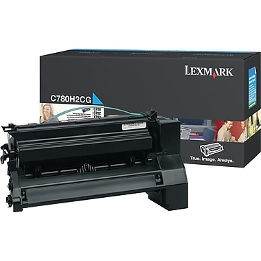 Lexmark Cyan Toner Cartridge (C780H2CG), High Yield