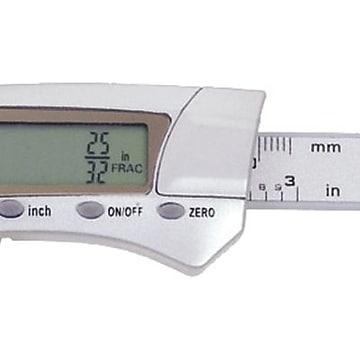 "General Tools® 1433 Digital Fractional Caliper, 0 - 3"""