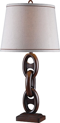 Kenroy Home Link Table Lamp, Mahogany Bronze Finish