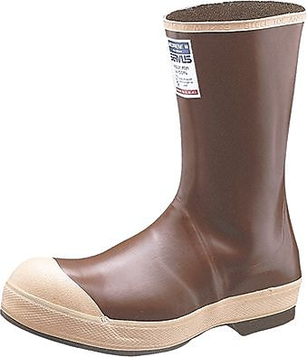 Servus® 22114 Steel Toe Boots, Copper/Tan, Size 10