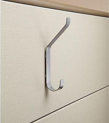 Safco 6410 Magnetic Coat Hook, Silver (6410SL)
