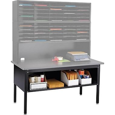 Safco® E-Z Sort® 7749 Sorting Table Base/Shelf, Black