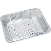"Boardwalk® Aluminum Deep Steam Table Pan, Half Size, 1 1/11""(H) x 1 10/13""(W) x 40/43""(D)"