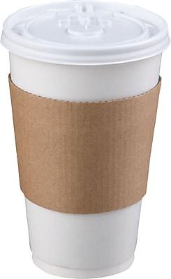 Coffee Clutch Hot Cup Sleeve, Brown, 1200/Carton