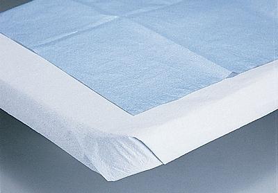 Medline NON24339 2-Ply Tissue Drape Sheets 100/Pack, 1 Carton