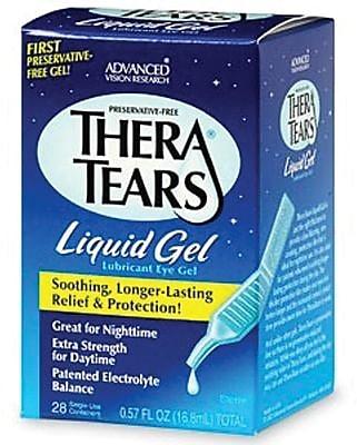 TheraTears® Liquid Eye Gels, 4/7 oz, 28/Box