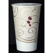 SOLO 316SMSYM Hot Cup, Symphony Design, 16 oz. Beige, 1000/Carton by