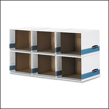 Bankers Box® File/Cube Box Shell, Letter/Legal, 6/Pack (FEL0162601)