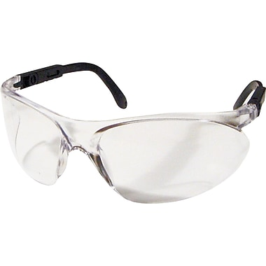 Dentec Citation 932 Safety Glasses Series Eyewear with Ratchet and Adjustable Temples, Clear Lens