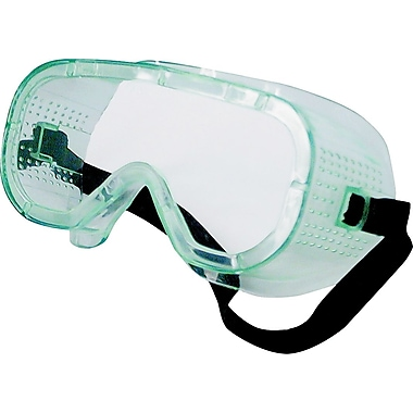 Dentec Safety-Flex Safety Googles - Series 22, Clear Lens, No Vent