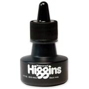 Higgins Waterproof India Ink, Black, 1 oz.