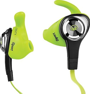 Monster® iSport Intensity In-Ear Headphones, Green