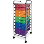 Advantus 10-Drawer Organizer, Multicolour
