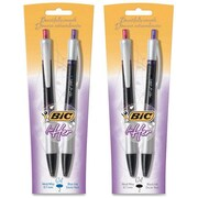 BiC For Her Retractable Gel Pens, 0.7 mm