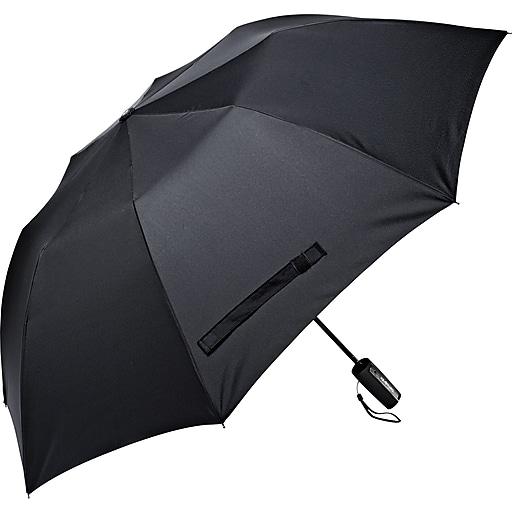 Samsonite Auto Open Umbrella, Black