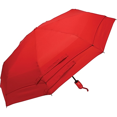 Samsonite Windguard Automatic Open/Close Umbrella, Red