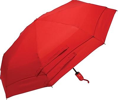 Samsonite Windguard Automatic Open/Close Umbrella, Red