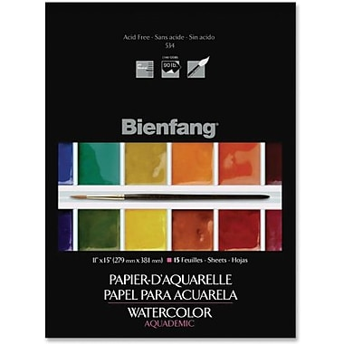 Bienfang Lightweight Aquademic Watercolour Paper Pad, 11