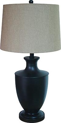 Fangio Bronze Metal Table Lamp