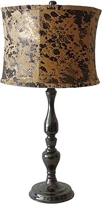 Fangio Black Nickel Metal Table Lamp