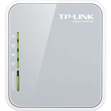 TP-LINK – Routeur sans fil N portable 3G/4G (TL-MR3020)
