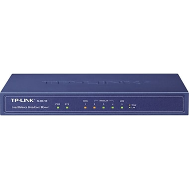 TP-Link TL-R470T+ Fast Ethernet Multi-Wan Load Balance Router, 5 Port