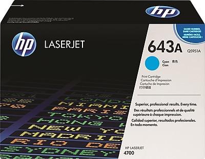 HP 643A Cyan Toner Cartridge (Q5951A)