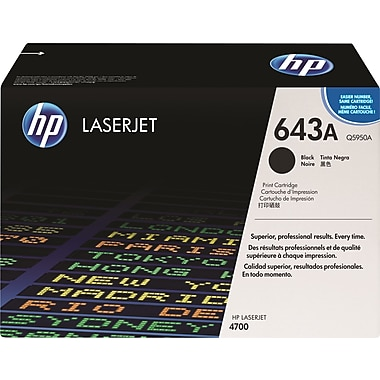 HP 643A Black Toner Cartridge (Q5950A)