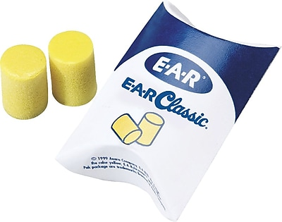 3M E-A-R Classic Uncorded Earplugs, 29 dB, 200 Pairs/ Box