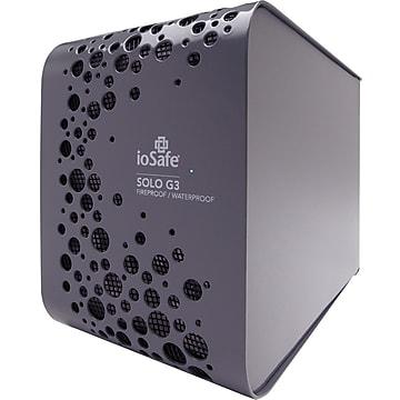 ioSafe Incorporated 3TB USB 3.0 External Hard Drive, Black (SK3TB)