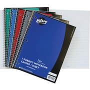 "Hilroy 1-Subject Notebooks, 10-1/2"" x 8"", Assorted"