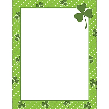 Great Papers® Clover Dots Letterhead, 80/Pack