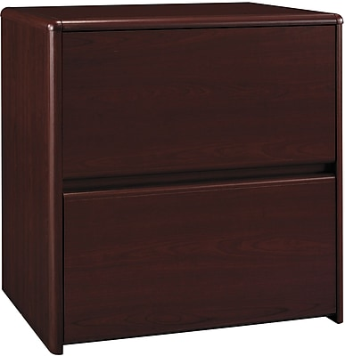 Bush Business Northfield 30W Lateral File, Harvest Cherry