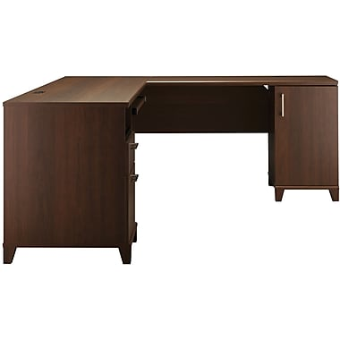Bush Furniture Achieve L Shaped Desk, Sweet Cherry (PR67610K)